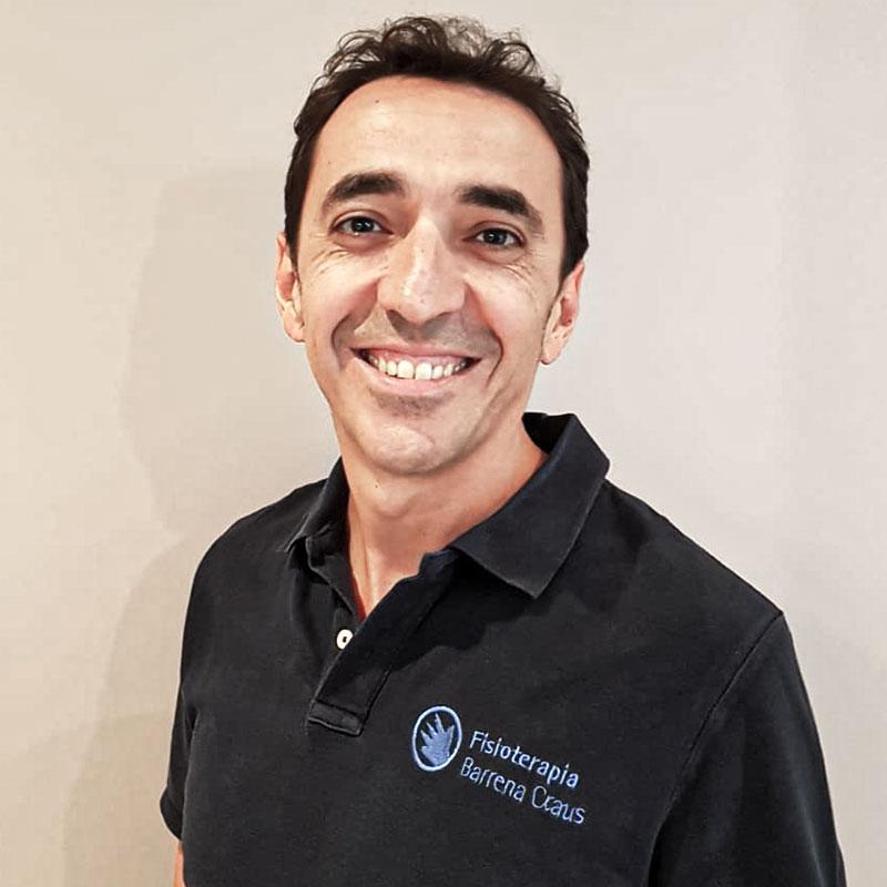 Fisioterapeuta Javier Barrena, clínica de fisioterapia barrio de Salamanca