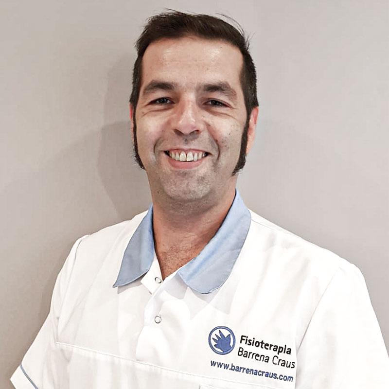 Fisioterapeuta Víctor Sánchez Craus