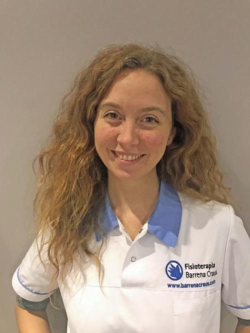 Estefanía Veri, fisioterapeuta a domicilio